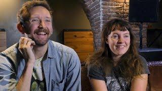 Sylvan Esso interview - Amelia and Nick (part 1)