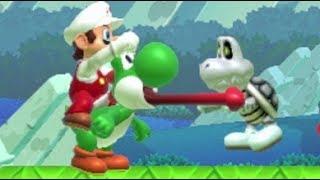 Super Mario Maker - Super Expert 100 Mario Challenge #95 & #96