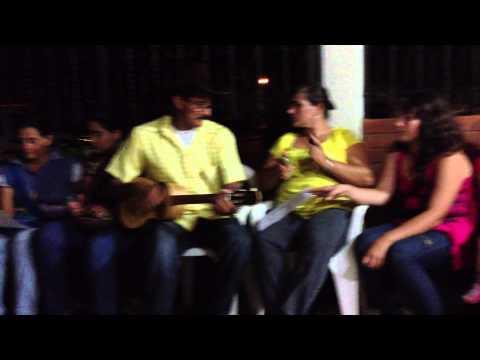 El Angel Negro canta María Alejandra