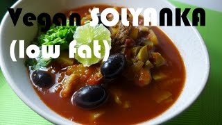 Vegan solyanka soup (low fat)
