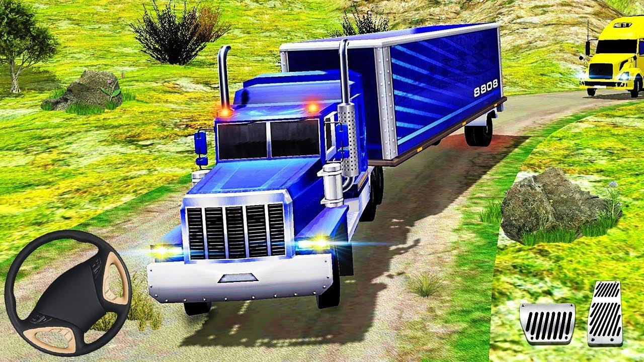 Truck Simulator Mountain Climb - Cargo Logistics Truck ...