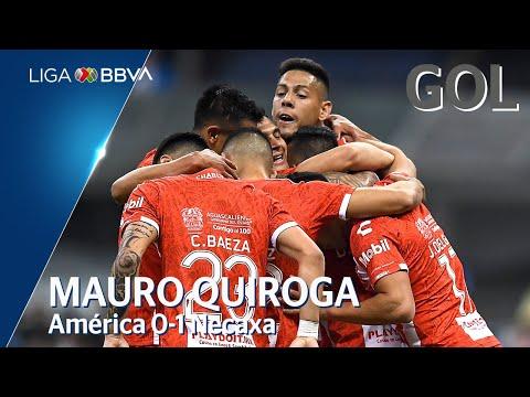 Gol de M. Quiroga | América 0 - 1 Necaxa | Liga BBVA MX - Clausura 2020  - Jornada 8