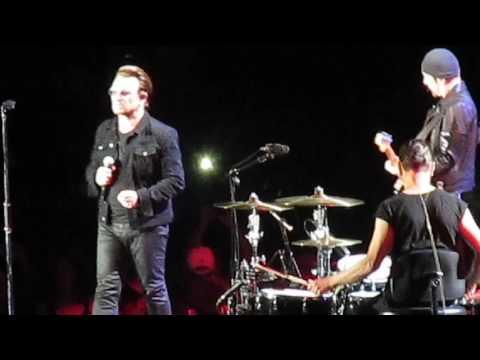 U2 - Bad - Gillette Stadium, Boston MA, June 25,  2017