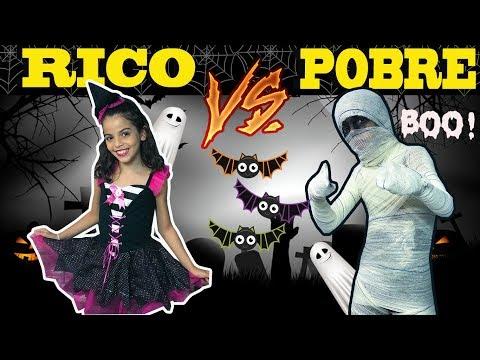 RICO VS POBRE  - HALLOWEEN