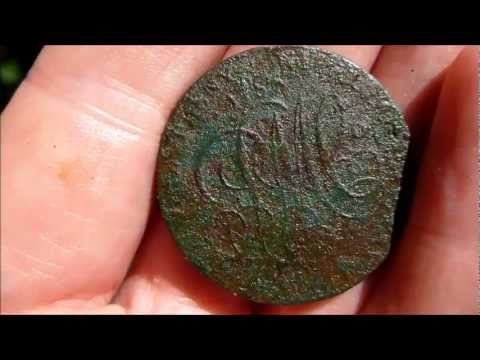 Live metal detecting video: ETrac: The Parys mountain copper trade token. Halsall penny
