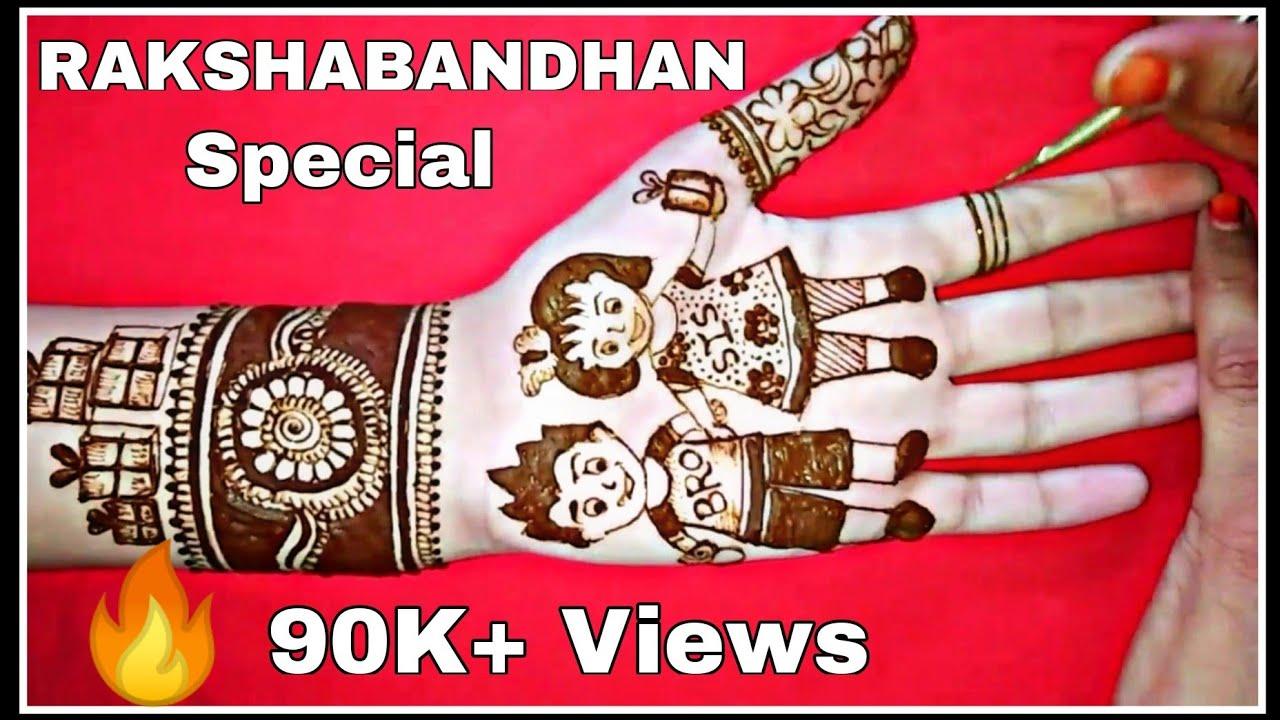 mehandi design for rakhi