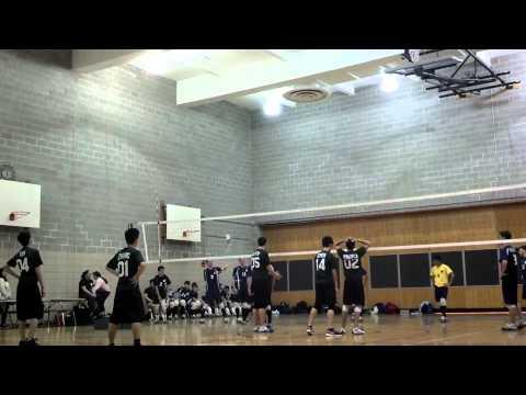 Edward R Murrow high school men's volleyball April 4, 2013 (5) against Fort Hamilton high