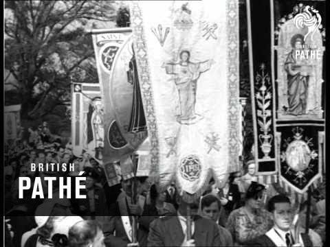 Walsingham - National Pilgrimage (1954)