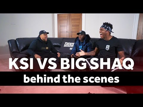 KSI VS BIG SHAQ Behind The Scenes
