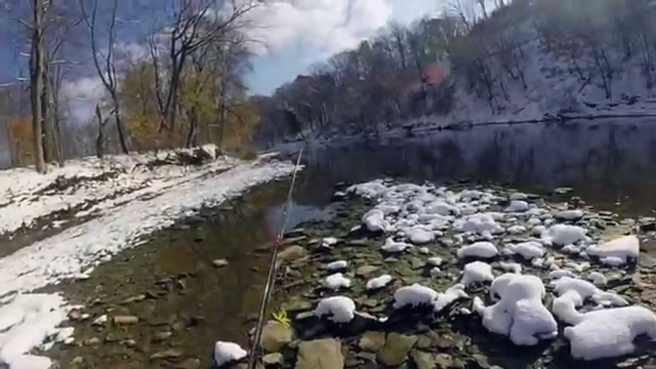 Rocky river fly fishing for steelhead youtube for Rocky river fishing