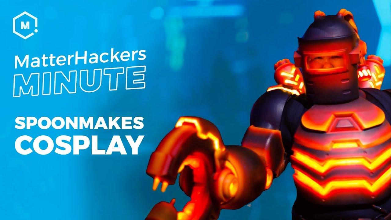 Lighting Up 3D Printed Cosplay   MatterHackers