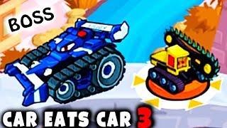 Битва с БОССОМ полицейских МОЛНИЯ | Хищные Машины 3 | МАШИНА ЕСТ МАШИНУ прохождение #9. Car eats Car