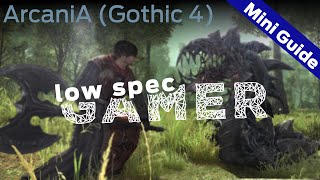 ArcaniA Gothic 4 performance Mini Guide