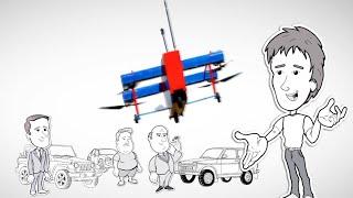 Мульт-комікс: дрон ''БК-150Э'' - велика іграшка для серйозних людей.