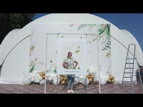 """Оформление свадеб в Новосибирске. Студия декорирования Barbaris. Свадьба """"Золото на белом"""""""