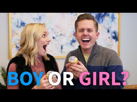 HUSBAND SURPRISES WIFE WITH GENDER REVEAL BOY OR GIRL?  Ellie And Jared