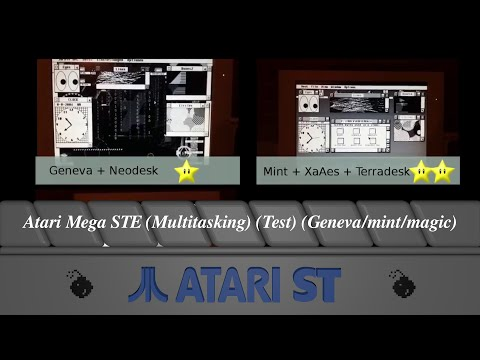 Atari Mega STE (Multitasking) (Test) (Geneva/mint/magic)