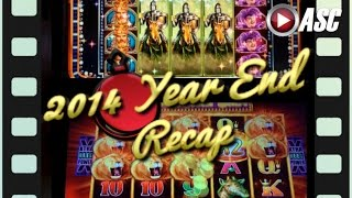2014 YEAR-END RECAP | Slot Machine Video Montage - iMovie Holiday Trailer