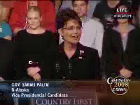 McCain-Palin Rally in Dayton, Ohio