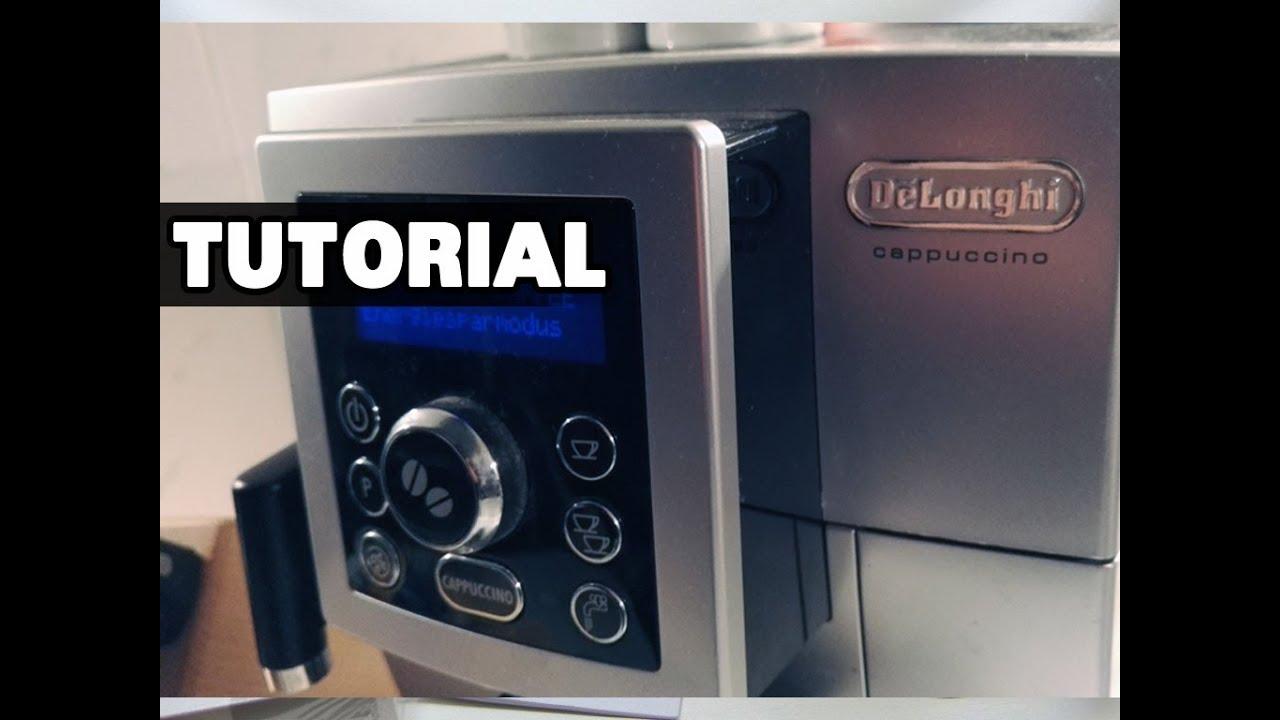 anleitung delonghi ecam cappuccino zubereitung. Black Bedroom Furniture Sets. Home Design Ideas