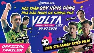 [VOLTA LIVE - FIFA ONLINE 4] HÓA THÂN HÙNG DŨNG PHÁ ĐẢO VOLTA LIVE CÙNG DÀN STREAMER TRIỆU VIEW
