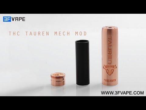 THC Tauren Mech Mod - YouTube