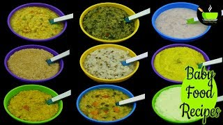 9 Baby Food Recipes for 12+ Months | Baby Food | Weight Gain Baby Food | Lunch Ideas For Babies