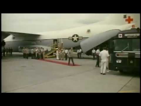 February 12, 1973 Vietnam War POW Return at Clark AFB