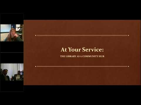 Big Talk From Small Libraries 2018: At Your Service: the Library as a Community Hub
