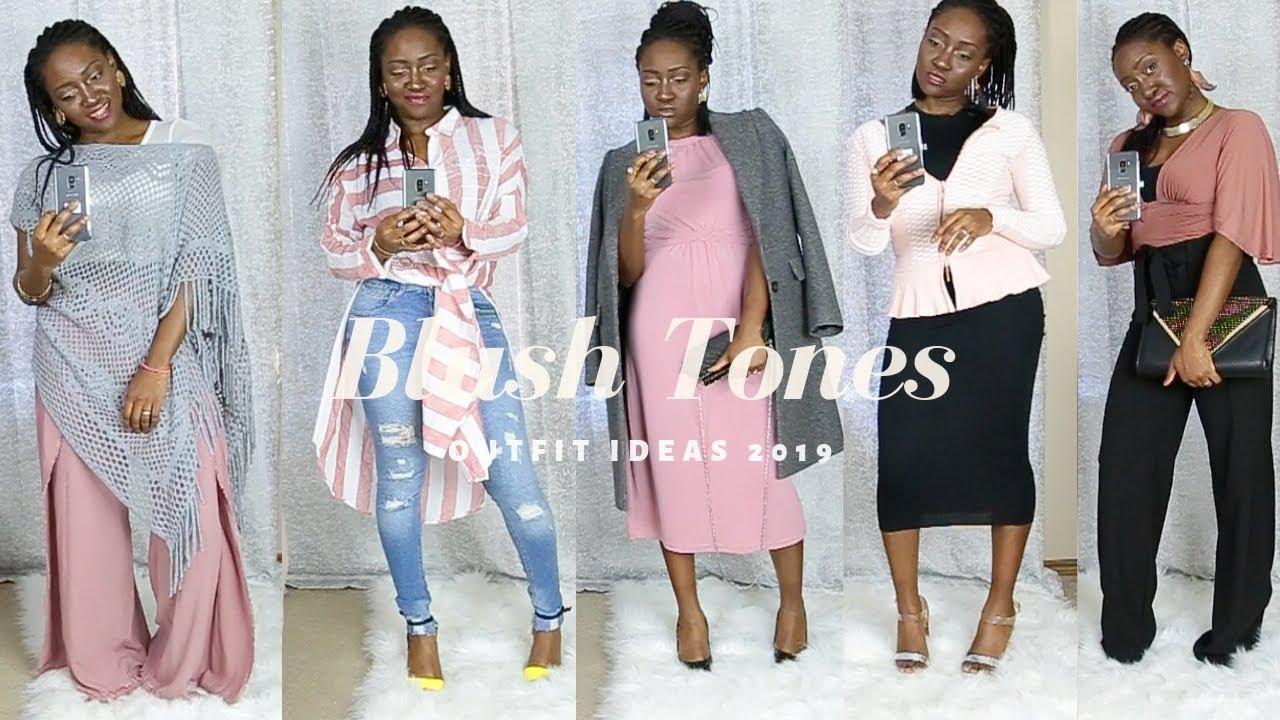 BLUSH TONES - Outfit Ideas 2019 4