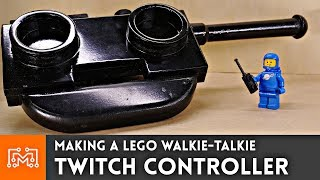 Making a LEGO Walkie Talkie Twitch Stream Controller