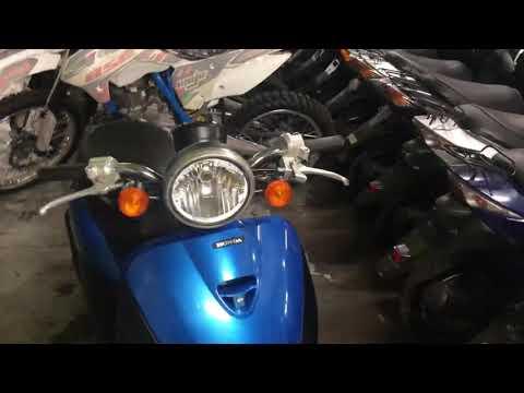 Скутер Honda Today AF67 инжекторный. Краткий обзор.