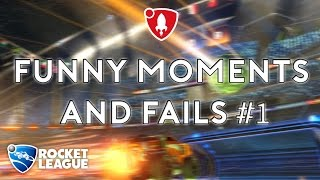 Rocket League Funny Moments and Fails #1