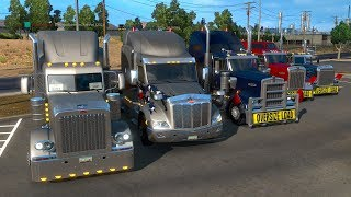 American Truck Simulator Day 28 | Ace Trucking & Logistics Multiplayer Convoy With Subscribers
