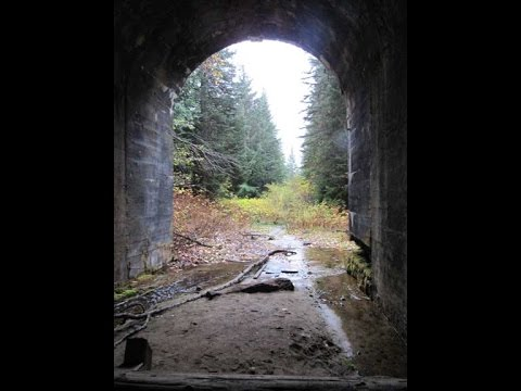 Abandoned Ghostly Reminders From the Cascade Mountain Train Tunnels