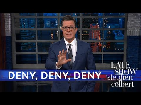 Donald Trump Denied That He's A Denier