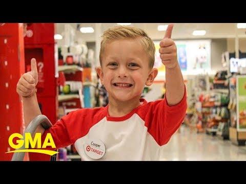 Fishhead - #GoodNews: Boy Gets Birthday Wish To Be Target Employee