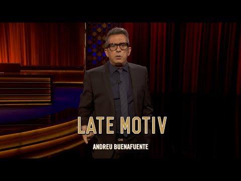"LATE MOTIV - Monólogo de Andreu Buenafuente. ""Spinners a media asta""  | #LateMotiv257"