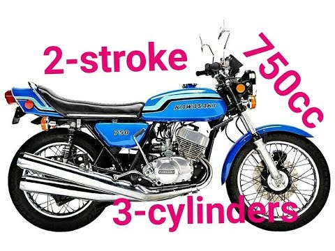 The Biggest 2-stroke Motorcycles !!!