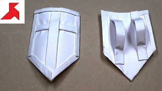 как сделать доспехи из бумаги