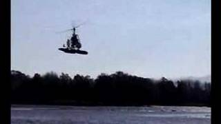 Sport Copter GyroPlane on Water