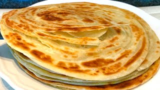 Chapati  Parathas recipe  Soft layered Kenyan chapati  How to make flaky layered parathas .