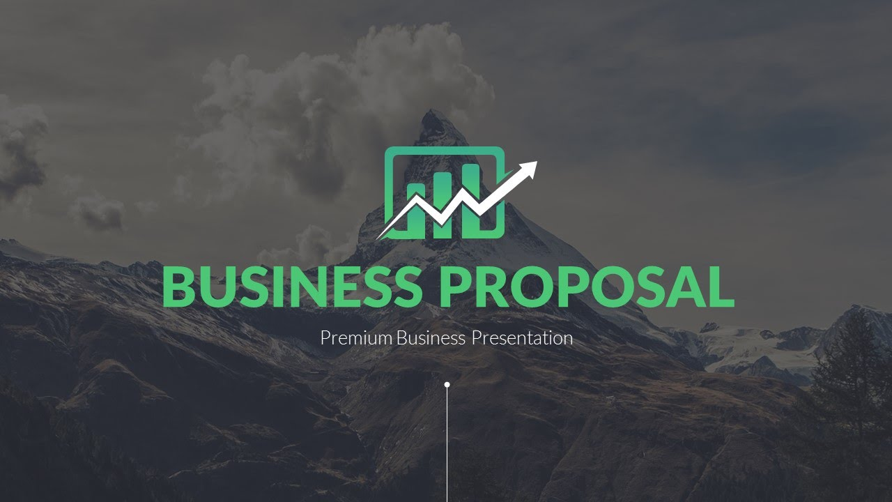 business proposal - premium and clean presentation   download now