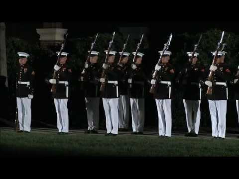 United States Marine Corps Silent Drill Platoon (SDP)