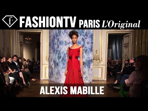 Alexis Mabille Haute Couture Fall/Winter 2014-15 EXCLUSIVE | Paris Couture Fashion Week | FashionTV