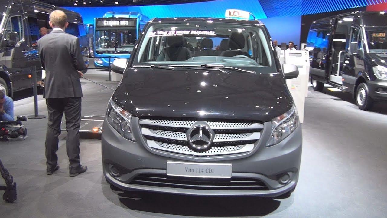 ccb4ba6f1d2c29 Mercedes-Benz Vito 114 CDI Taxi (2017) Exterior and Interior - YouTube
