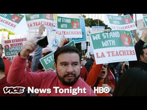 This Is Why Teachers In Los Angeles Are On Strike (HBO)