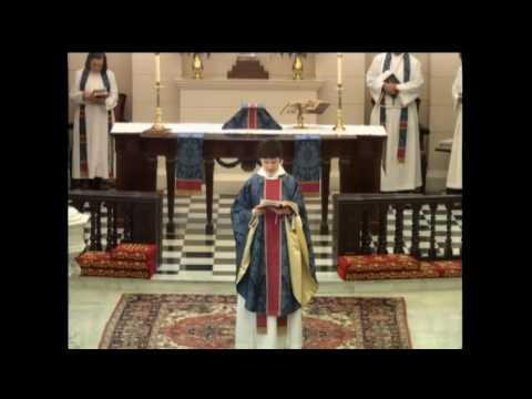 Holy Eucharist, Rite I, at 11:15 a.m., November 27 at St. James's in Richmond, VA