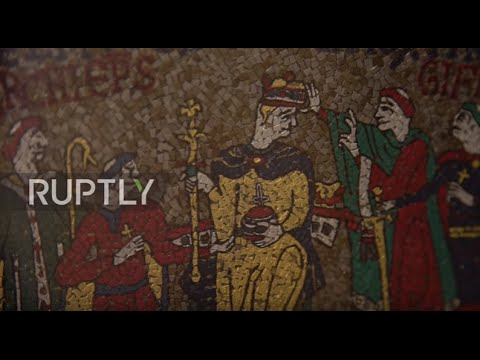 UK: Bayeux Tapestry replica kicks off UK tour in Hastings