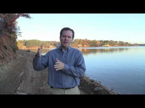 Lake Martin Concrete Seawall Construction Part 1